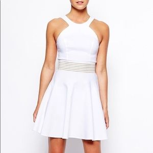 Dresses & Skirts - White sporty dress- only wore once